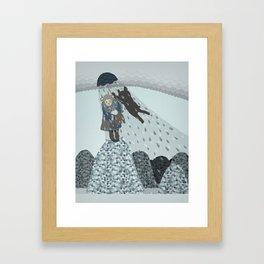 bearkin Framed Art Print