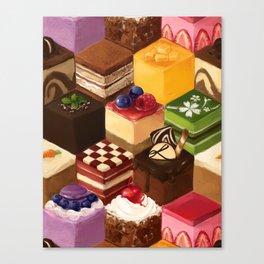 you get a cake, you get a cake, everyone gets a- Canvas Print