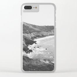 CALIFORNIA COAST VII / Mori Point, California Clear iPhone Case
