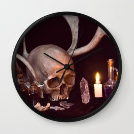 Darkest alchemy_1 Wall Clock