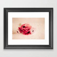 The Poppies Framed Art Print