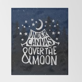 Under Canvas Throw Blanket