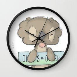 olly one Wall Clock