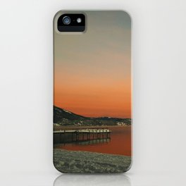 Snow's Morning Glow iPhone Case