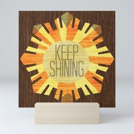 Baby Keep Shining Mini Art Print