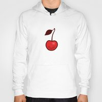 cherry Hoodies featuring Cherry by René Barth