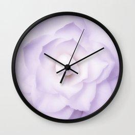 Lilac Bloom 1 Wall Clock
