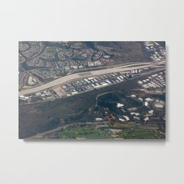 City from Above Metal Print