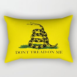 "Gadsden ""Don't Tread On Me"" Flag, High Quality image Rectangular Pillow"