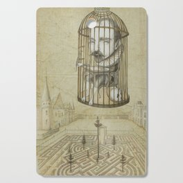 Michel Du Montaigne (1533 - 1592) An Inspirational Philosopher; Prison in the Sky Cutting Board