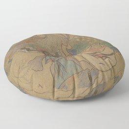 Psyché - progress Floor Pillow