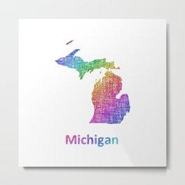 Michigan Metal Print