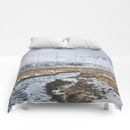 Heading to the Mountains - Landscape and Nature Photography Comforters