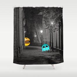 Pixel Hate Shower Curtain