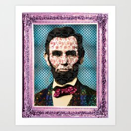 Abraham! Art Print