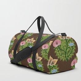 mandala verde Duffle Bag