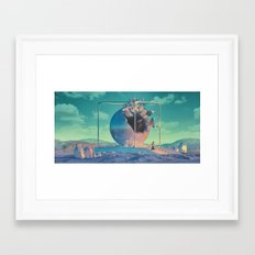 PRAYER EMOJI (everyday 04.28.16) Framed Art Print