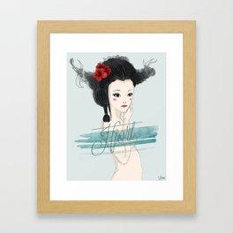 Lady Hjort Framed Art Print