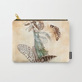 """""""Fairy Riding on a Bee"""" by Amelia Jane Murray Carry-All Pouch"""