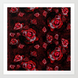 chrystal rose Art Print
