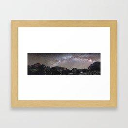 Yosemite Milky Way 2 Framed Art Print