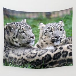 Aqua_Leopard_20180106_by_JAMColorsSpecial Wall Tapestry