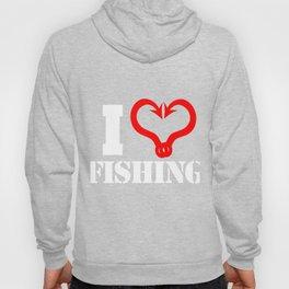 I Love Fishing Hoody