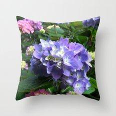 Swirl Flower Throw Pillow