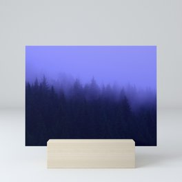 Periwinkle Fog 0367 - Seward, Alaska Mini Art Print