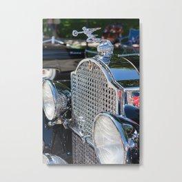 Packard Grill Metal Print