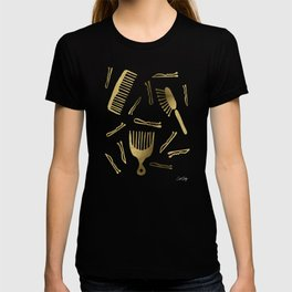 Good Hair Day – Gold Palette T-shirt