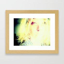 Ammonia Drunk Framed Art Print