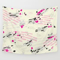 ice Wall Tapestries featuring Ice by Ellie Kempton