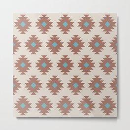 Southwestern Pattern 480 Metal Print