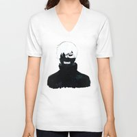 tokyo ghoul V-neck T-shirts featuring TOKYO GHOUL by villian