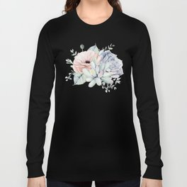 Pretty Succulents by Nature Magick Long Sleeve T-shirt