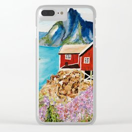 Lofoten Islands, Norway Clear iPhone Case