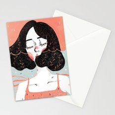 Drowning in Thoughts Stationery Cards