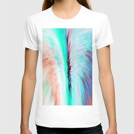 480 - Abstract water design T-shirt