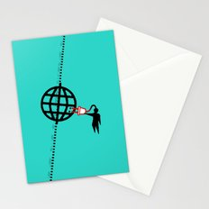 think global... Stationery Cards
