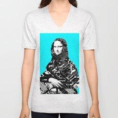 Mona Lisa Platina 4 Unisex V-Neck