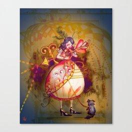 Love in Wonderland Canvas Print