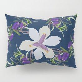 2941 Appleberry Iris P1 Blue Pillow Sham