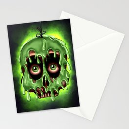 Poison Skull by Topher Adam 2017 Stationery Cards