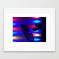 movies Framed Art Prints featuring Movies by Christina Hand
