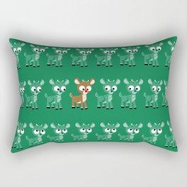 Look, it's Rudolph! (v2) Rectangular Pillow
