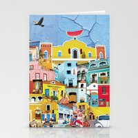 mexico Stationery Cards featuring Mexico by Francesca Sacco
