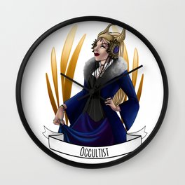 Steampunk Occupation Series: Occultist Wall Clock