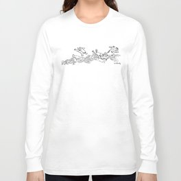 Pegando onda Long Sleeve T-shirt