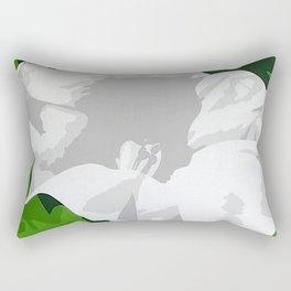Angel Trumpet Rectangular Pillow